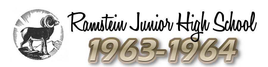 Ramstein Junior High School :: Class of 1964