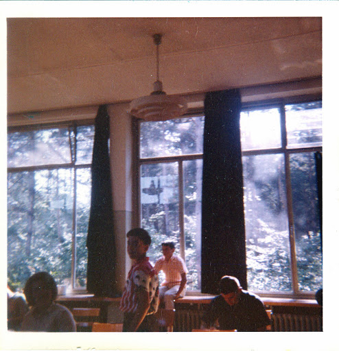 Frau Lang's classroom, 1963.  Is that Ernie Galvin and John Camp?