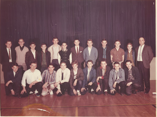 RJH Wrestling Team 1963-64 - How many can you name?